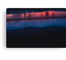 December - Västra Spöland Canvas Print