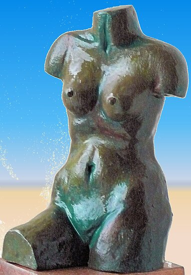 Venus de Milo inspired by Woodie
