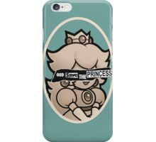 God save the princess iPhone Case/Skin