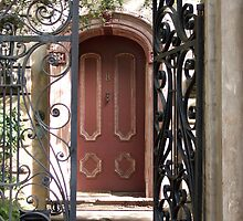 Charleston Door & Iron Gate by Benjamin Padgett