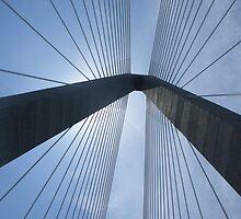 New Cooper River Bridge No. 1 by Benjamin Padgett