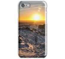 Snow at the Roaches iPhone Case/Skin