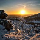 Snow at the Roaches by Anna Phillips