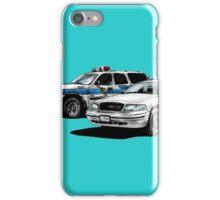 American Police Cars iPhone Case/Skin