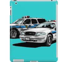 American Police Cars iPad Case/Skin