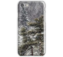 30.12.2014: Pine trees iPhone Case/Skin