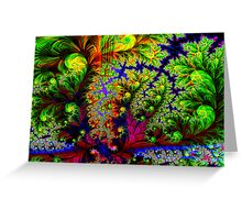 Tropical Forest Greeting Card