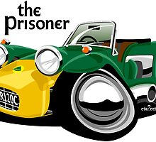 The Prisoner Lotus 7 by car2oonz