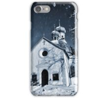 Mysterious chapel iPhone Case/Skin