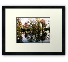#307       Raw Reflection Framed Print