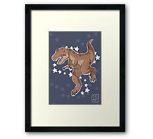 Star-Rex Framed Print