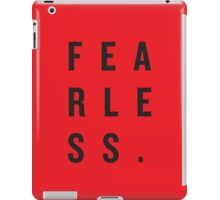 FEAR LESS. iPad Case/Skin