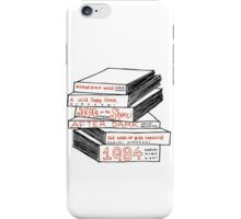 Haruki Murakami Book Stack iPhone Case/Skin