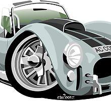 AC Cobra 427 silver by car2oonz