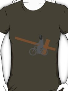Jesus on the bike T-Shirt