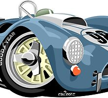 AC Cobra 289 blue by car2oonz
