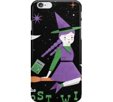 The Worst Witch iPhone Case/Skin
