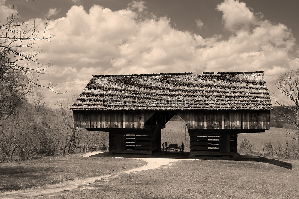 Cantilever Barn by Gary L   Suddath