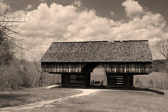 Cantilever Barn by Gary L   Suddath