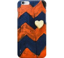 Auburn Chevron - State Pallets iPhone Case/Skin