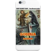 Godzilla Vs Megalon iPhone Case/Skin