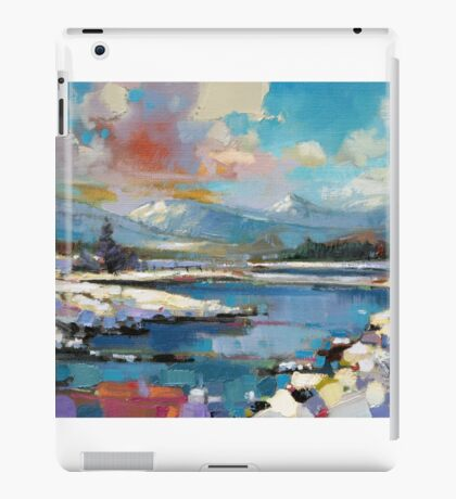 Glenspean Snow 1 iPad Case/Skin