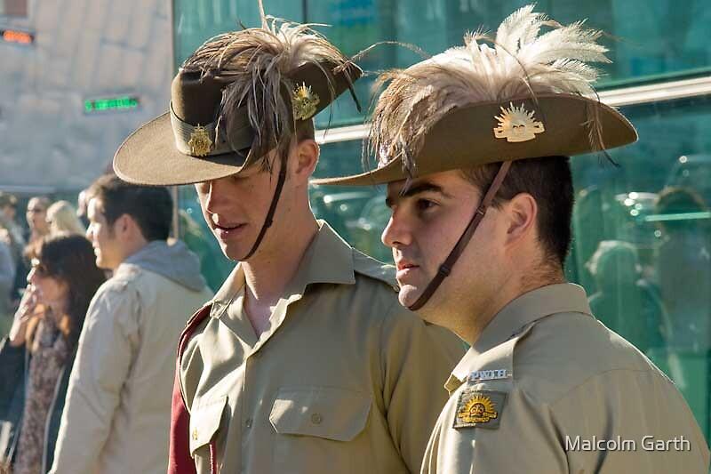 ANZAC Day 2008 by Malcolm Garth