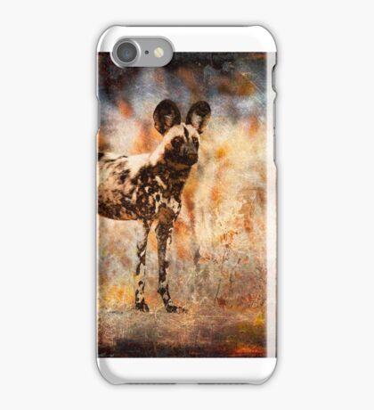 Wild Dog Texture iPhone Case/Skin