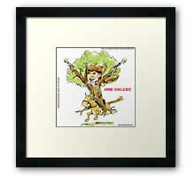 Annie Oakleave The Forest Fights Back Framed Print