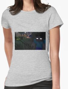 Herobrine - The Thief Womens Fitted T-Shirt