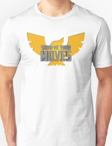 SHOW ME YOUR MOVES! - Captain Falcon T-Shirt