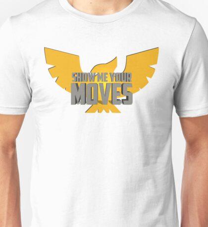 SHOW ME YOUR MOVES! - Captain Falcon Unisex T-Shirt