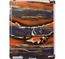 Auburn Themed Eagle - State Pallets iPad Case/Skin