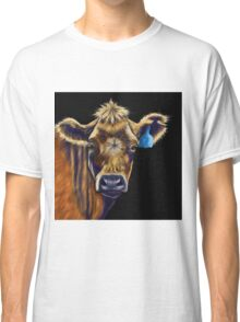 Lucky Number Seven Cow Painting Classic T-Shirt