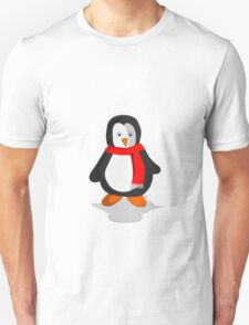 Penguin in the snow T-Shirt