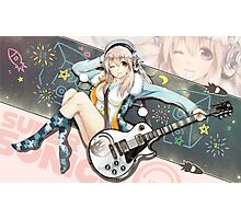 Super Sonico Photographic Print