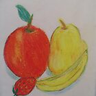 Red Fruit Vs. Yellow Fruit by librapat