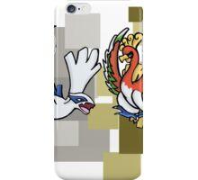 Lugia & Ho-Oh iPhone Case/Skin