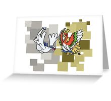 Lugia & Ho-Oh Greeting Card