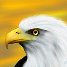 Proud Eagle by saleire