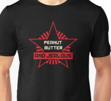 Peanut Butter and Jealous Unisex T-Shirt