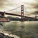Golden Gate by Philip James Filia
