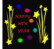 Happy New Year 2015 Photographic Print