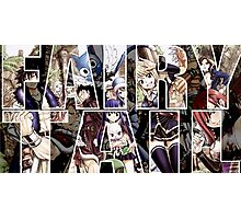 Fairy Tail WP Photographic Print
