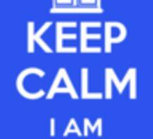 keep Calm I am the Doctor Sticker