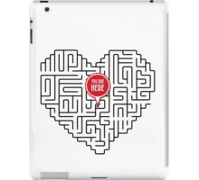 Finding Love I iPad Case/Skin