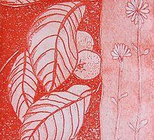 Citrus in red by Gudrun Eckleben