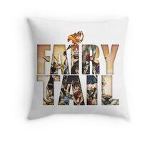 Fairy Tail WP 2 Throw Pillow