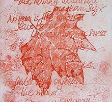 Leafy Wisdom (I) by Gudrun Eckleben