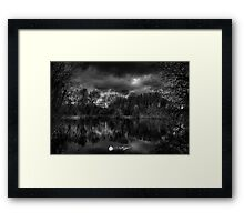Silent Waters  Framed Print